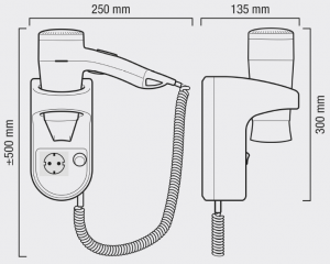 Wimpel Valera Premium Smart Socket 1600W hvit