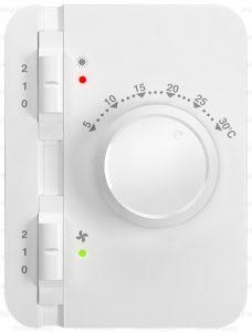 Wimpel Industri 9/18kW for høyder opp til 4,5m hvit