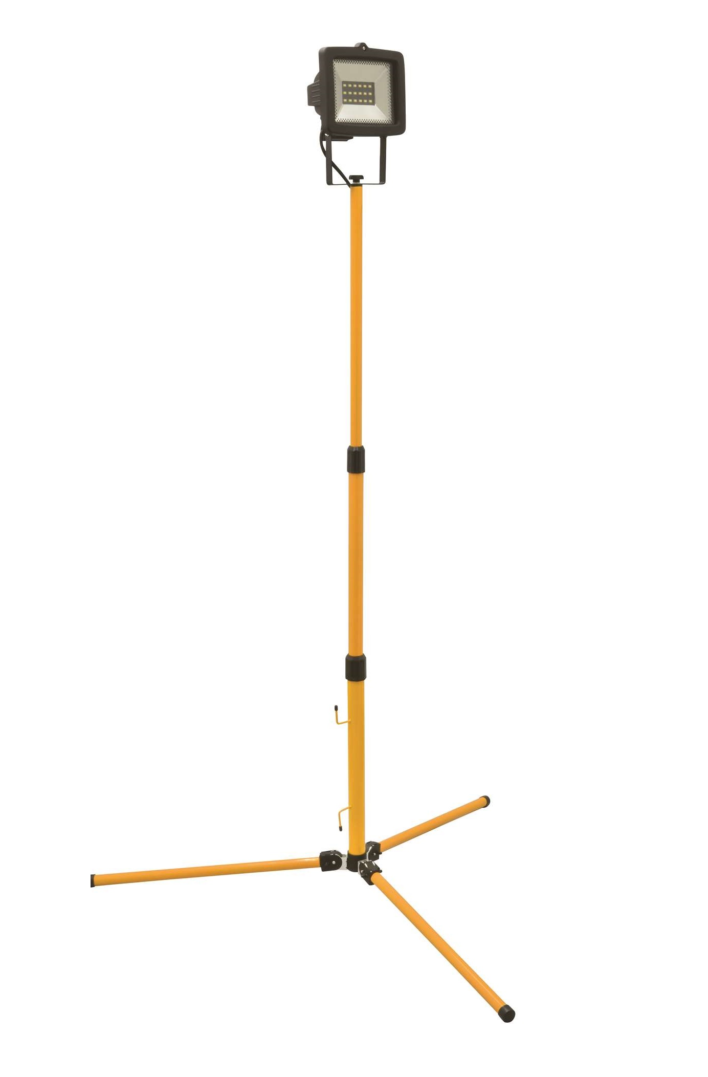Wimpel Yellow 9W LED med teleskopstativ IP54