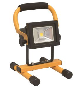 Wimpel Yellow 10W LED oppladbar IP44