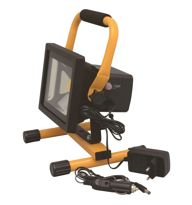 Wimpel Yellow 20W LED oppladbar IP44