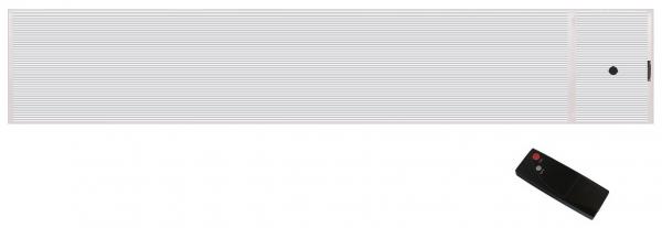 Wimpel BlackHot pluss 1800W hvit IP55